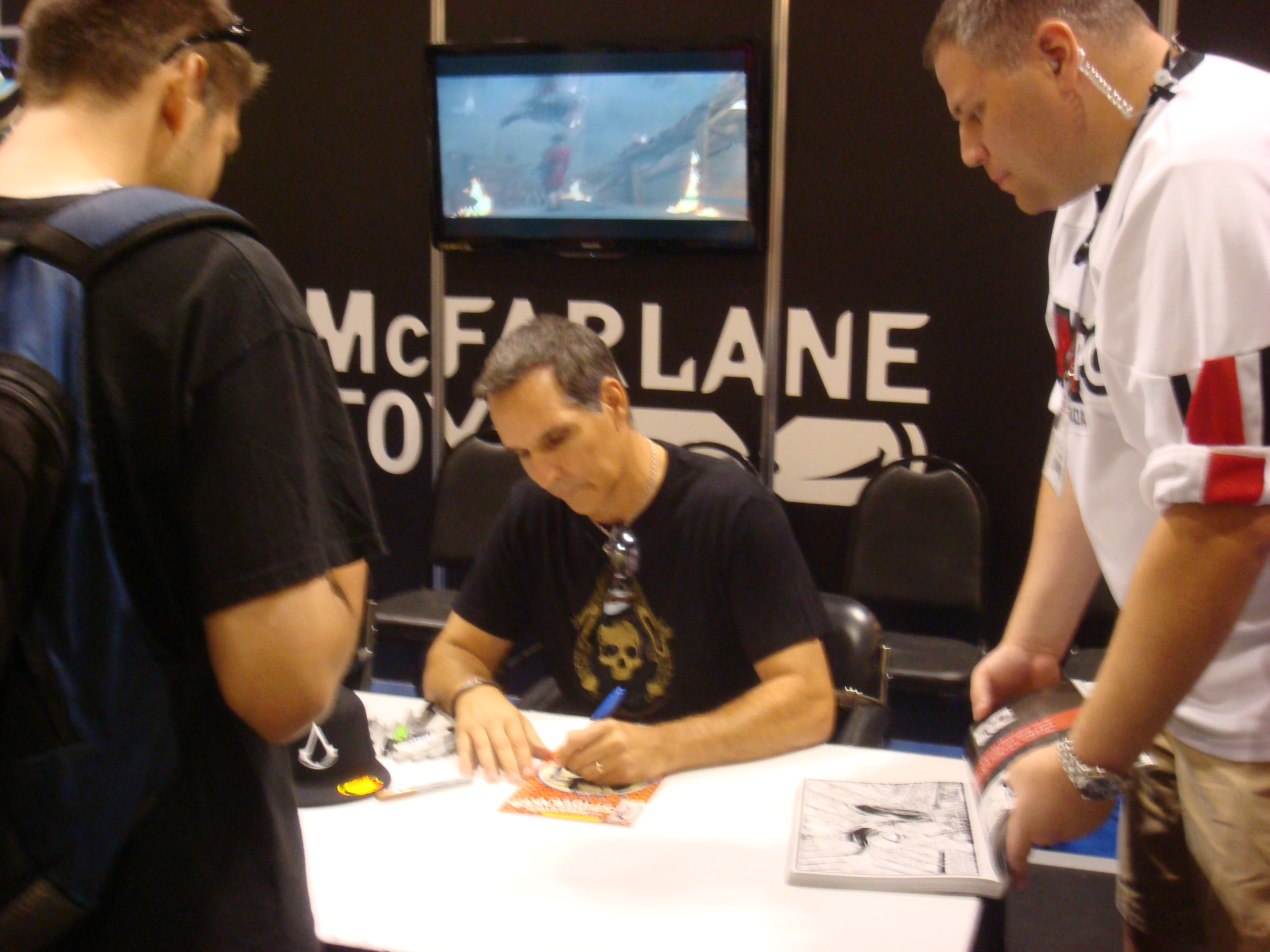 todd mcfarlane fan expo 8