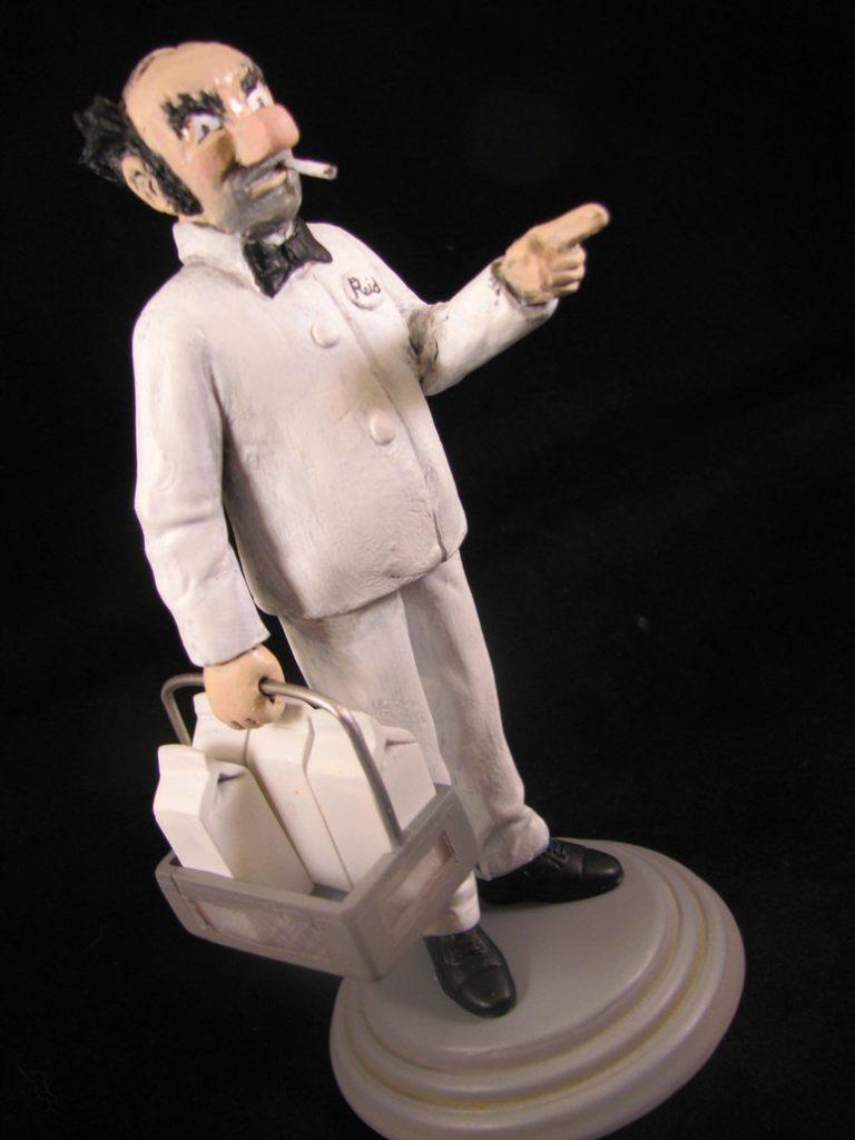 milkman statue