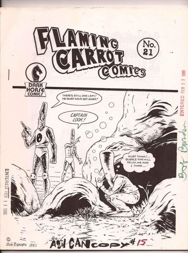 flaming carrot ash can 21