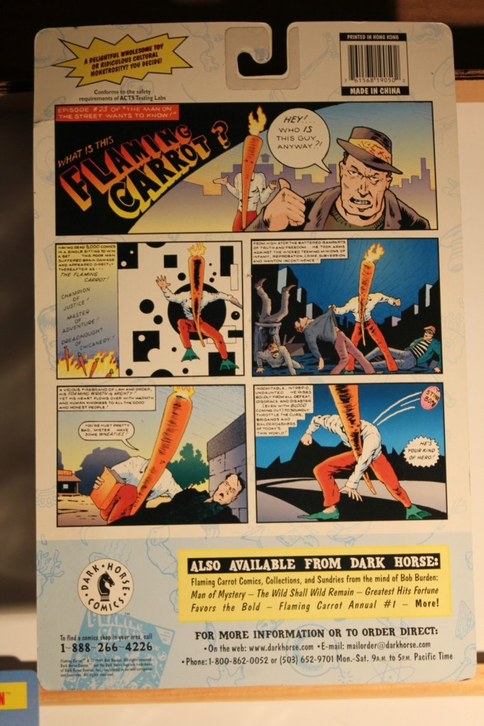 flaming carrot action figure 2
