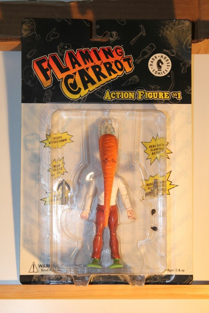 flaming carrot action figure