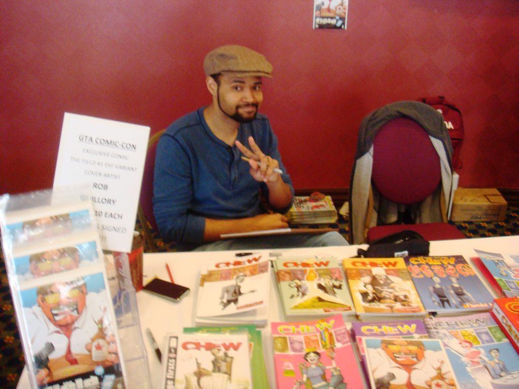 rob guillory chew comics