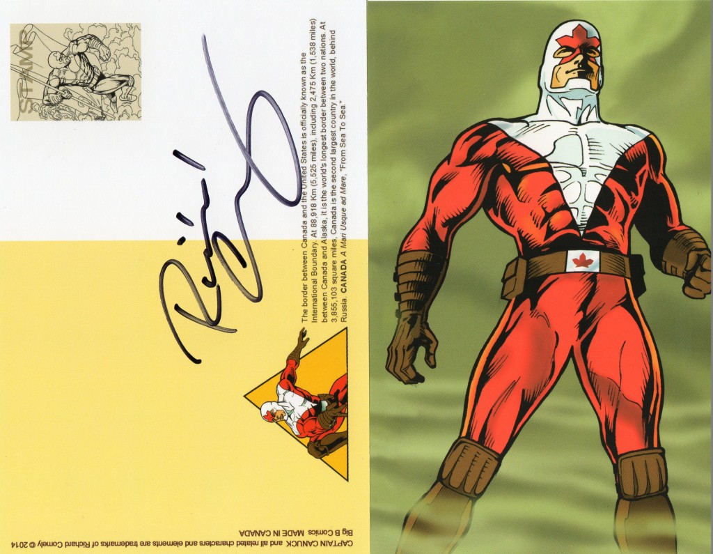 captain canuck signature