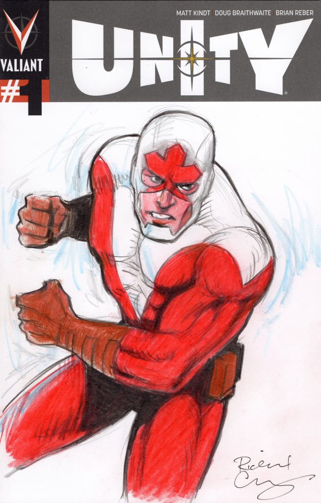 richard comely sketch cover