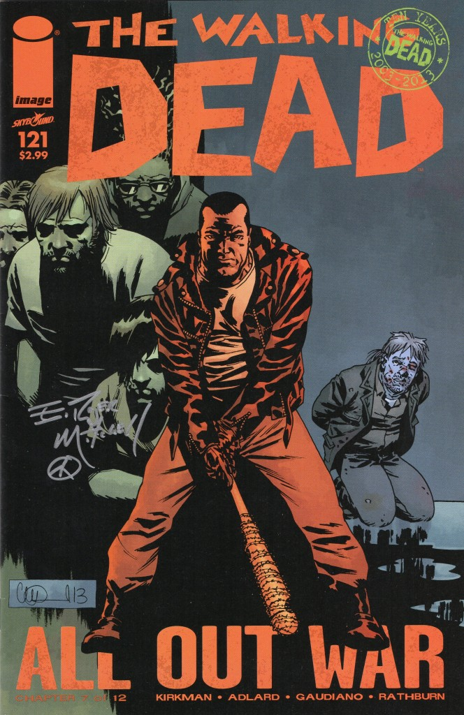 walking dead comic signature