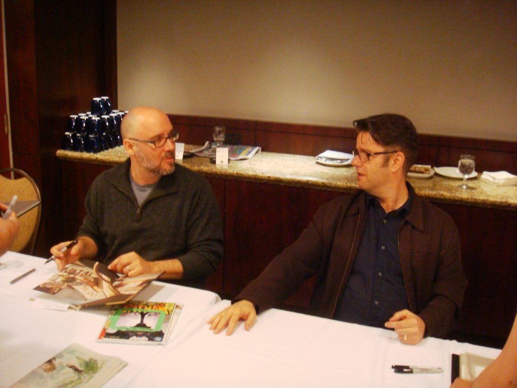 ed brubaker and sean phillips signing event