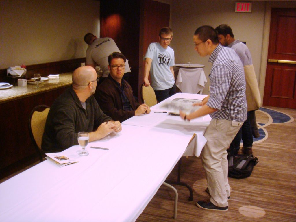 tcaf signing with ed brubaker and sean phillips cgc comics blog