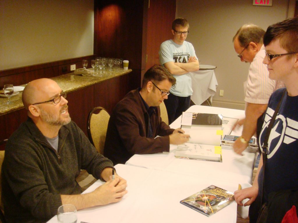 ed brubaker and sean phillips signing at tcaf