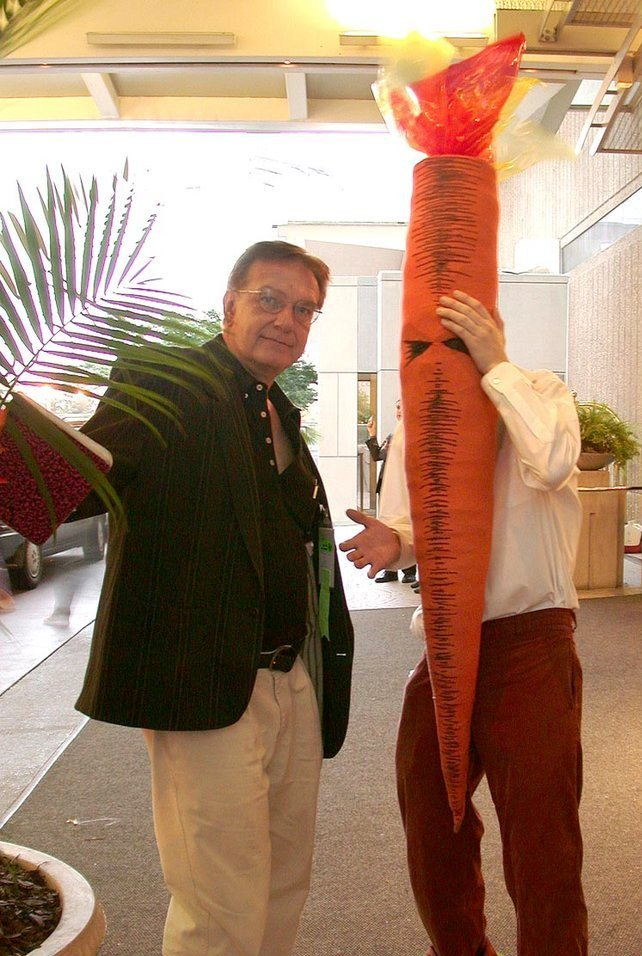 bob burden and flaming carrot