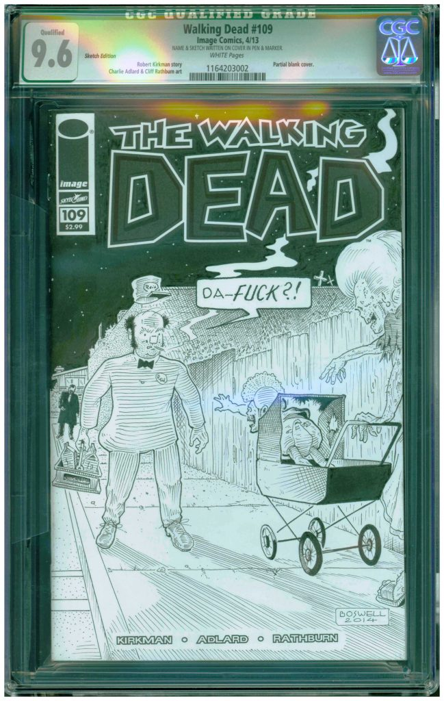 david boswell cgc ss sketch cover