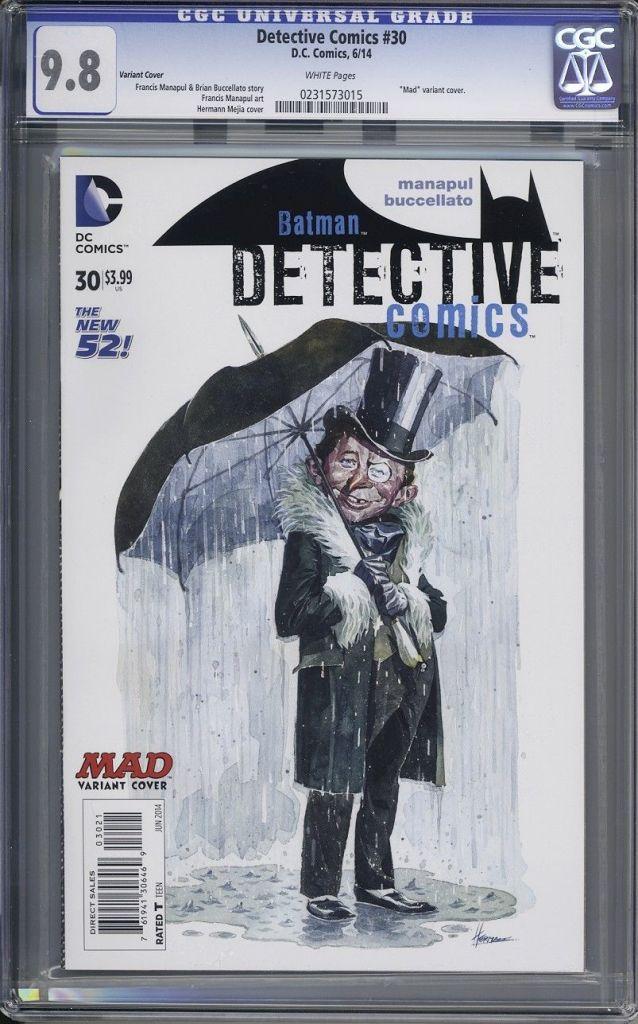 detective comics 30 cgc