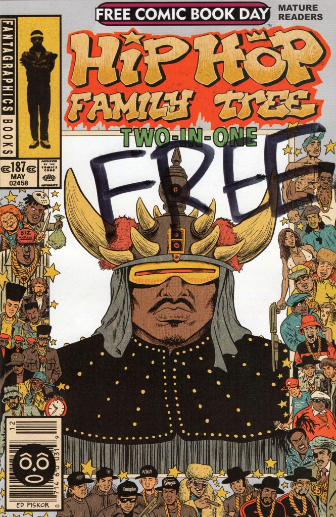 ed piskor free comic book day