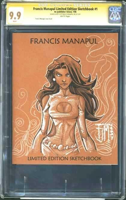 francis manapul sketch book cgc