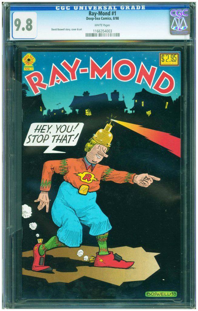 raymond 1 cgc 9.8 david boswell