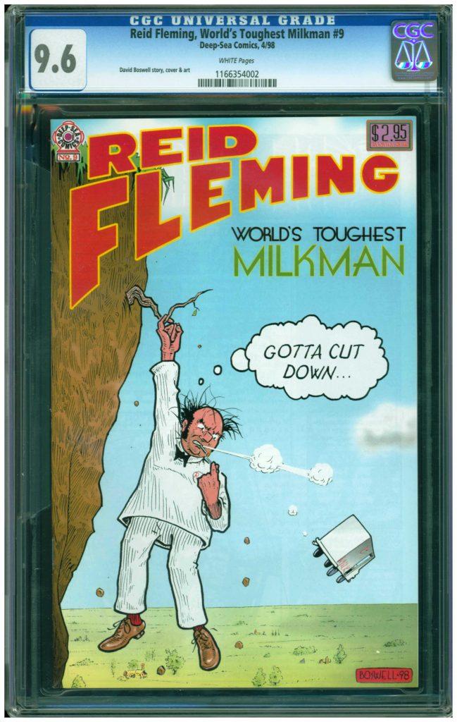reid fleming worlds toughest milkman 8 cgc 9.6 david boswell