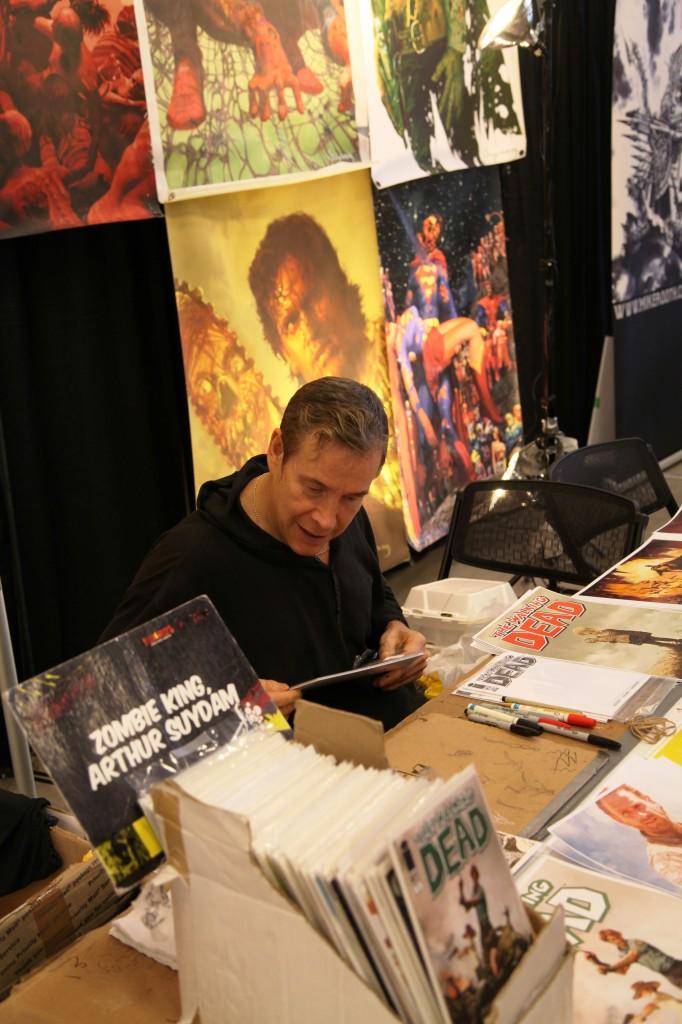arthur suydam comics artist niagara comic con zombie king