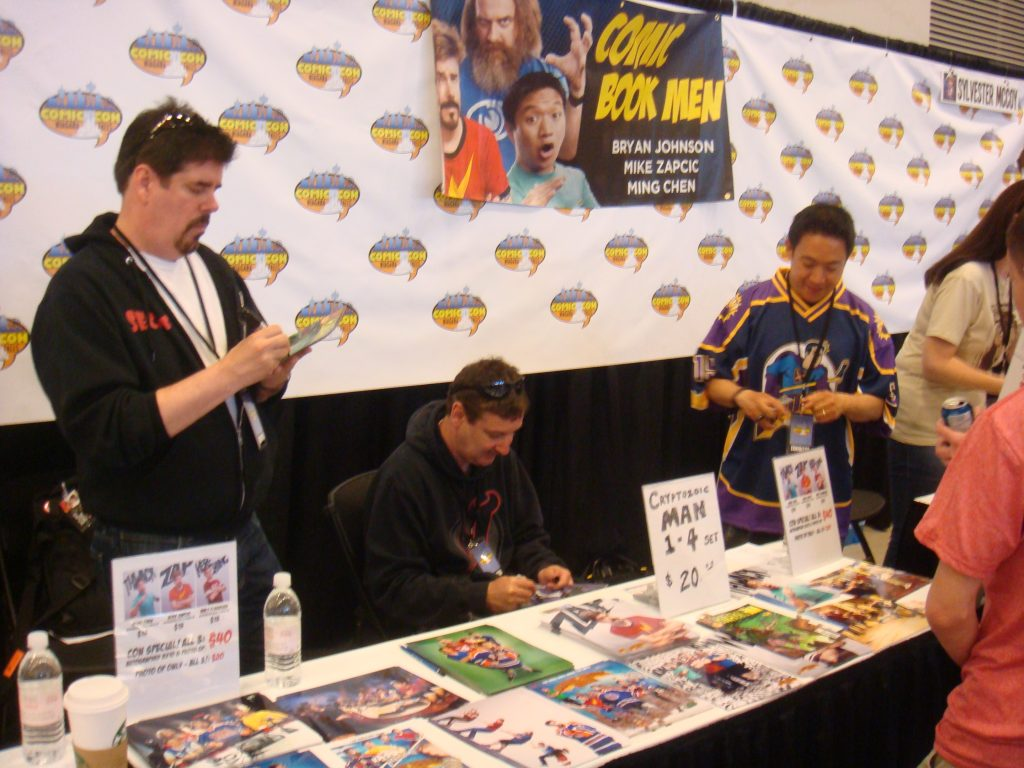 comic book men at niagara comic con