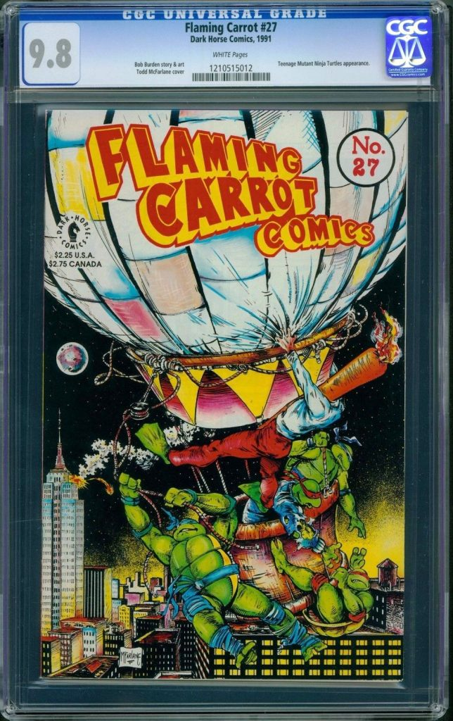flaming carrot cgc