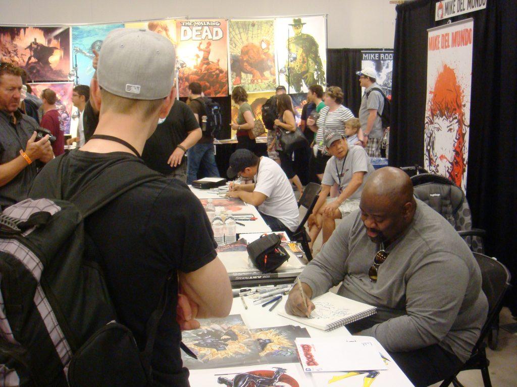 ken lashley comics artist fans comic con
