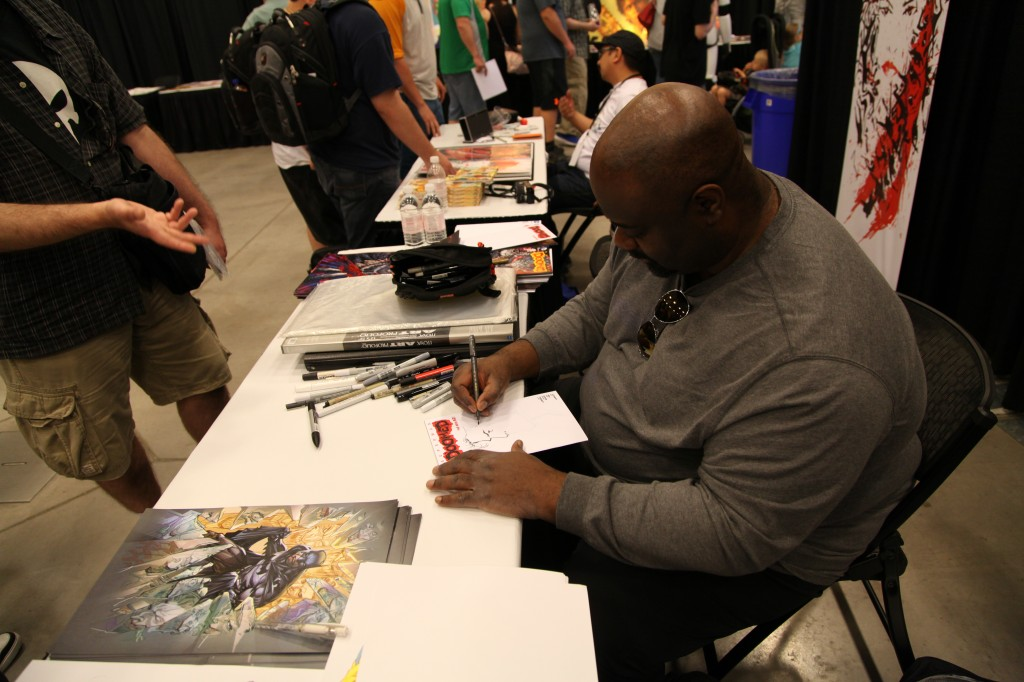 ken lashley comics comic con