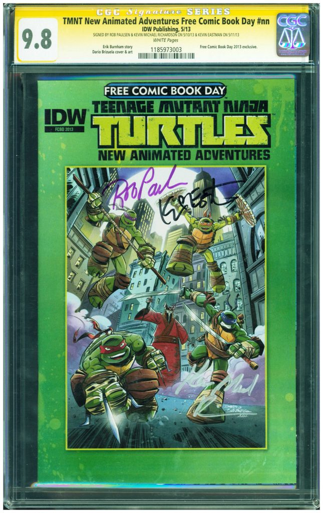 kevin eastman cgc ss