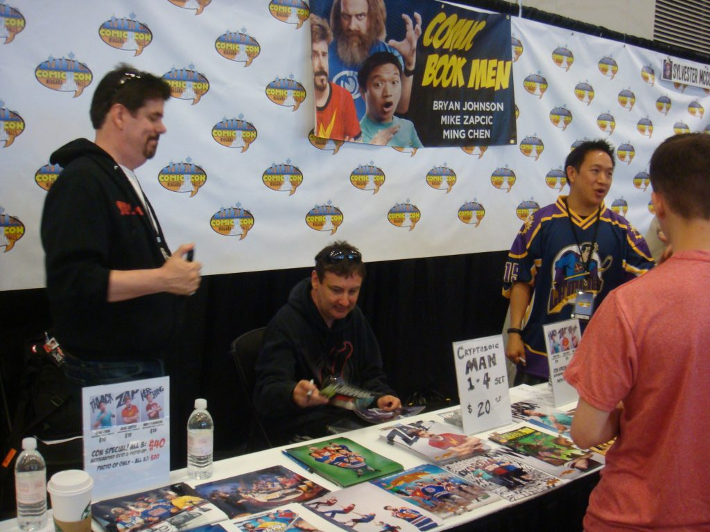 niagara comic con with comic book men