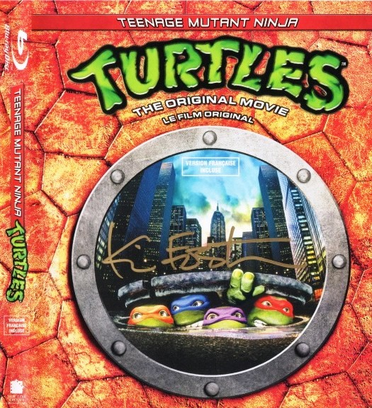 turtles bluray signed