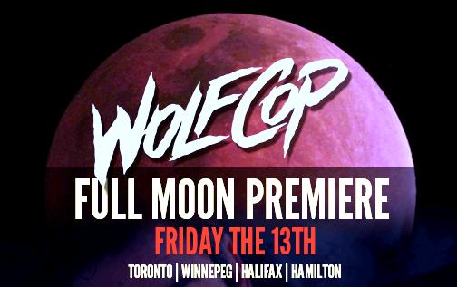 wolfcop premiere
