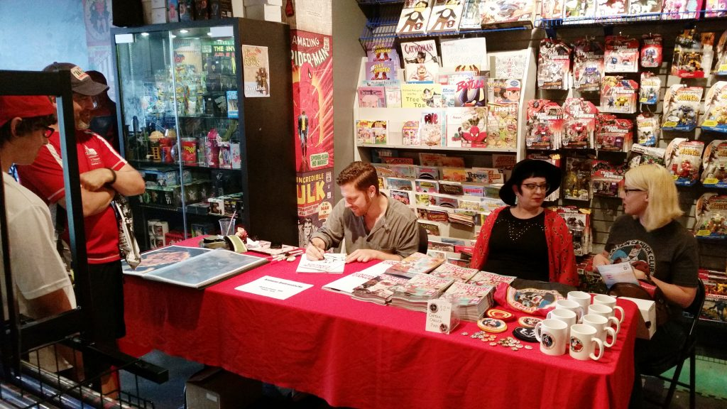 captain canuck at silver snail comics