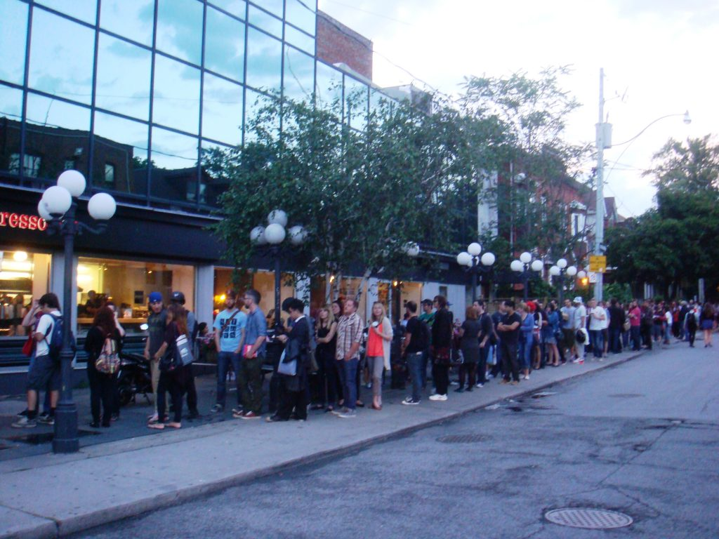 bloor cinema scott lee o'malley line ups