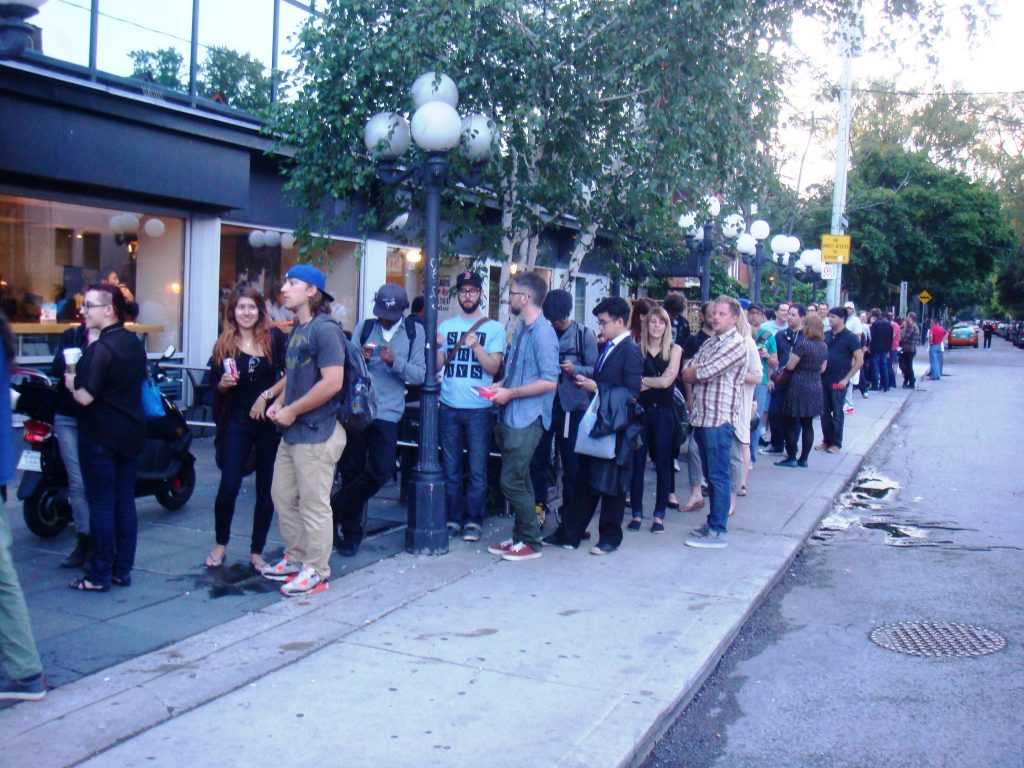 bloor cinema seconds launch
