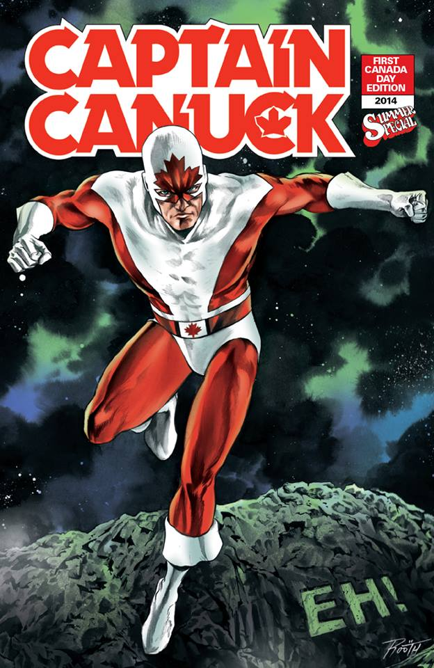 captain canuck variant color mike rooth