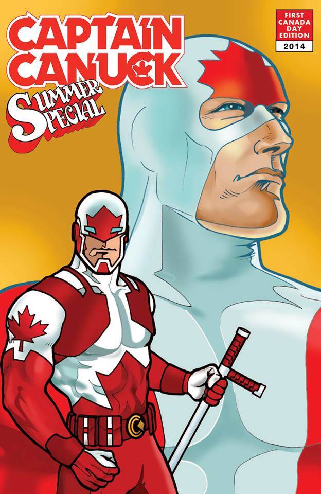 richard comely captain canuck variant