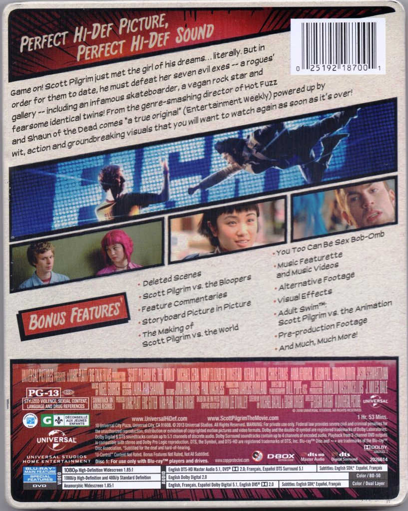 scott pilgrim bluray