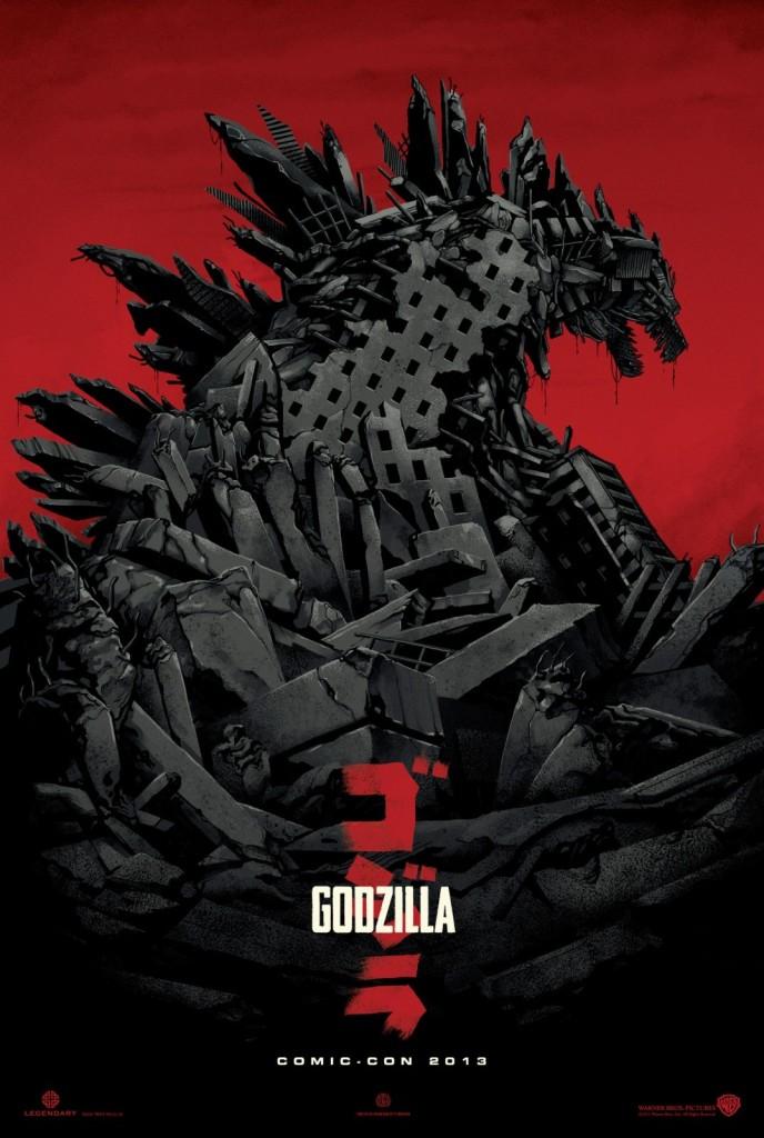 godzilla poster promo
