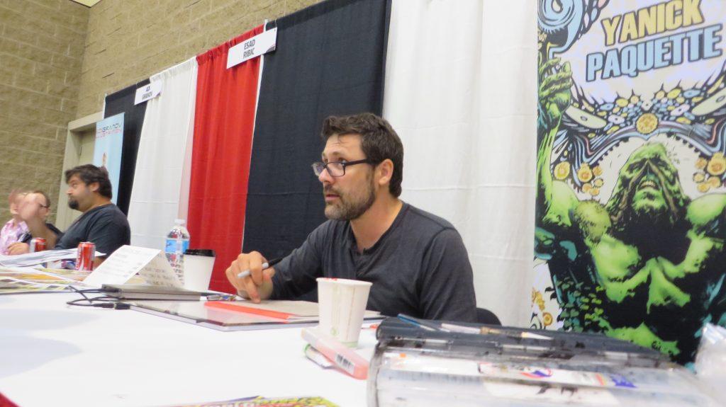 Yanick Paquette comic artist
