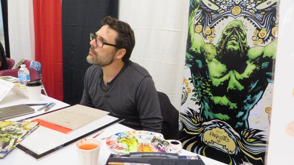 Yanick Paquette comics fan expo