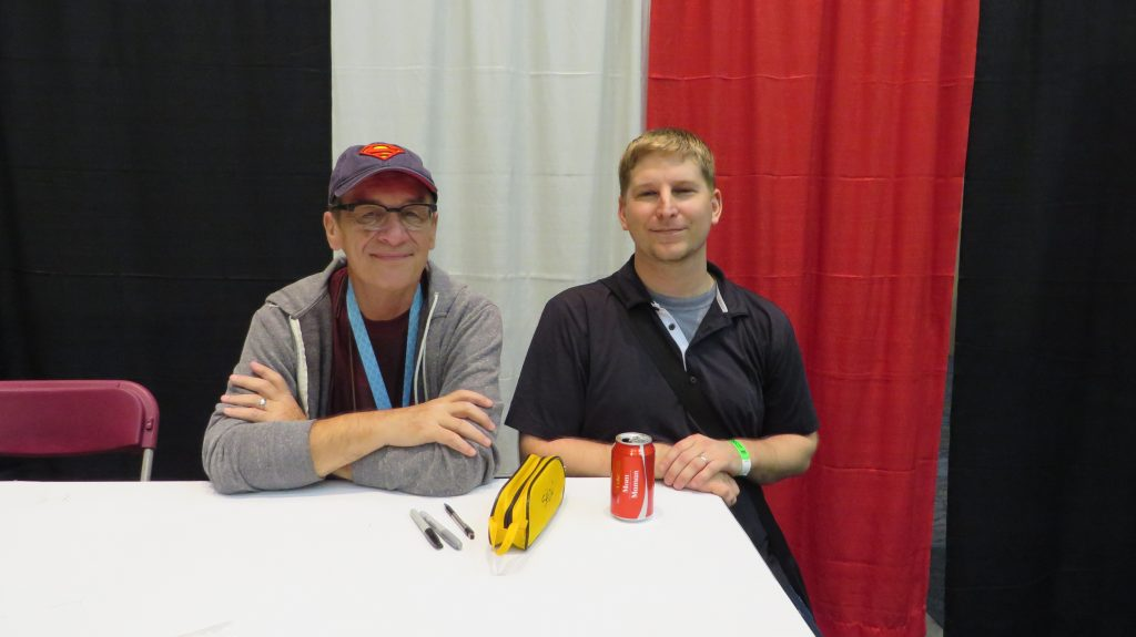 bernie wrightson and fan at fan expo
