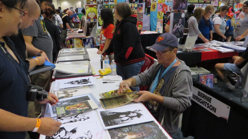 bernie wrightson fan expo swamp thing