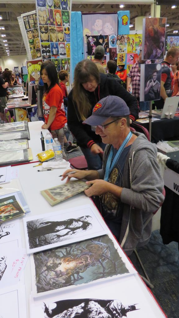bernie wrightson living legend