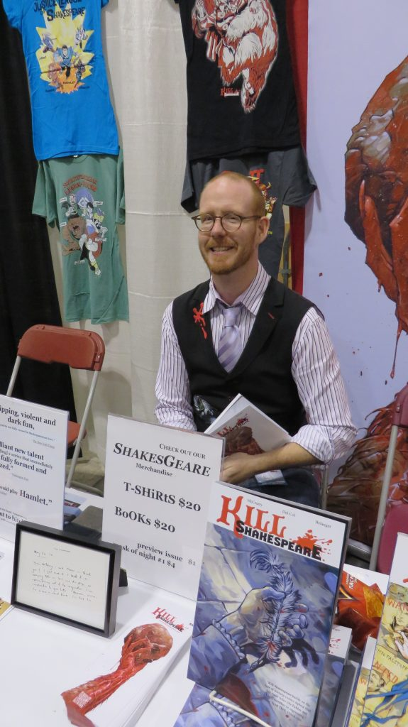 conor mccreery at fan expo