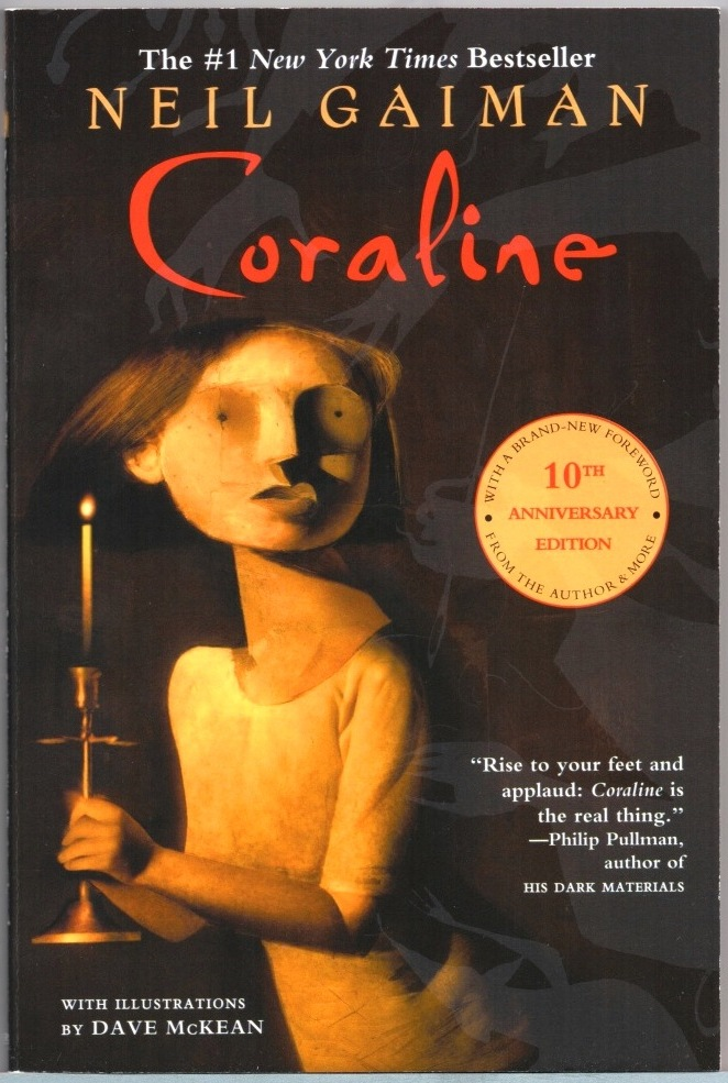 coraline book dave mckean signature