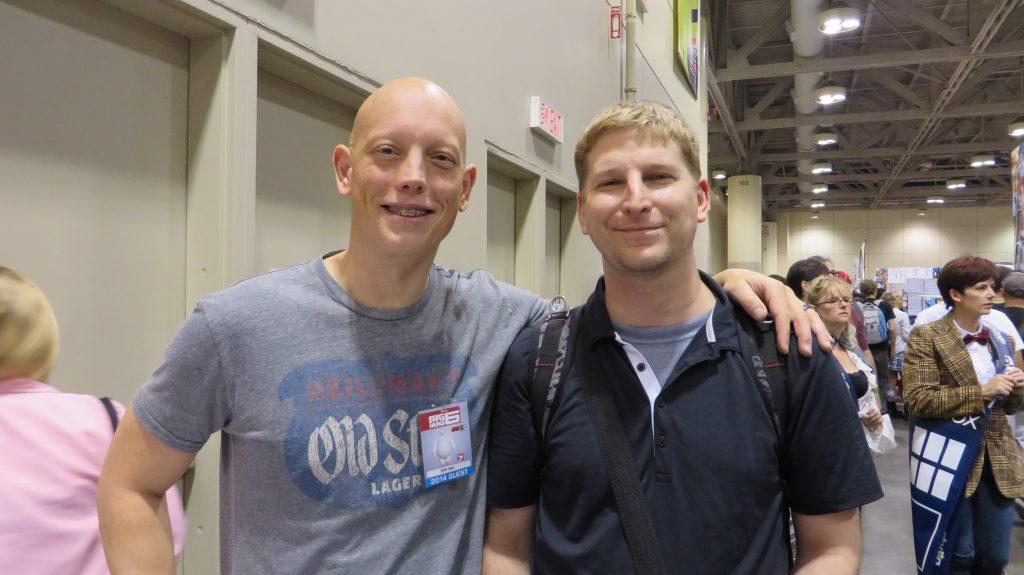 david finch and fan at fan expo 2014
