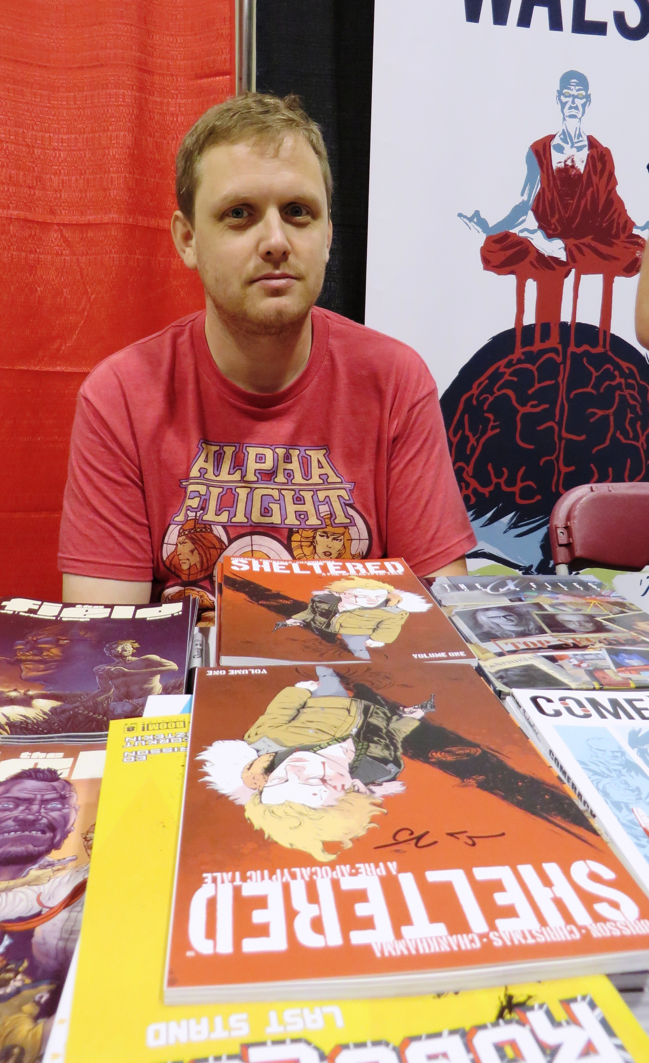 ed brisson comics writer