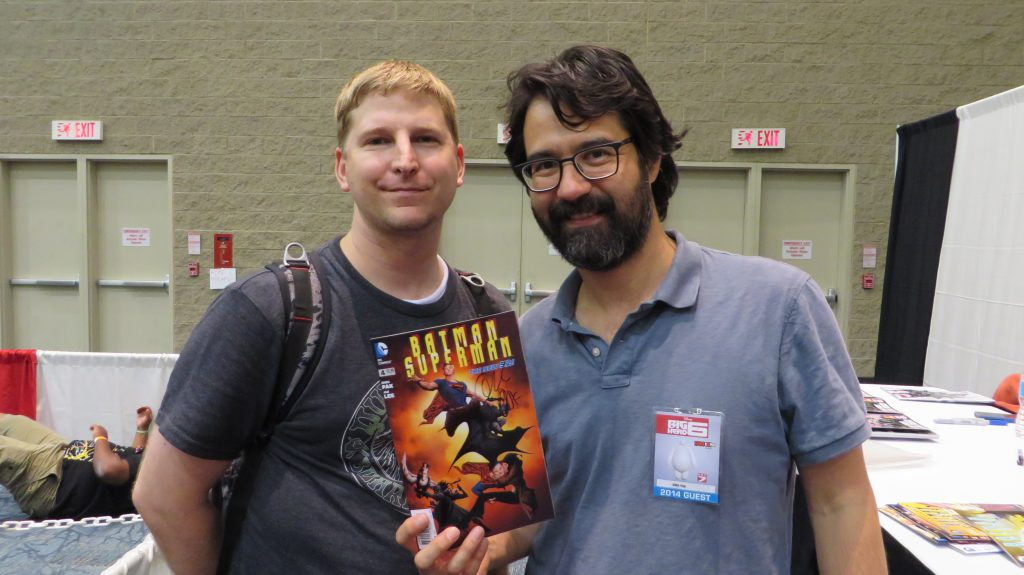 greg pak and fan at fan expo