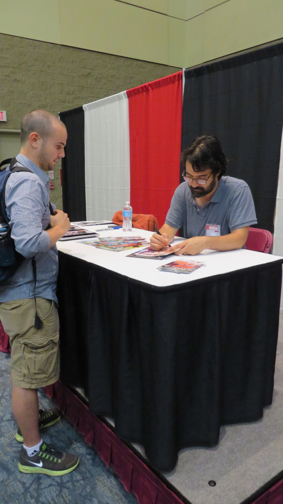 greg pak at fan expo 2014 comics