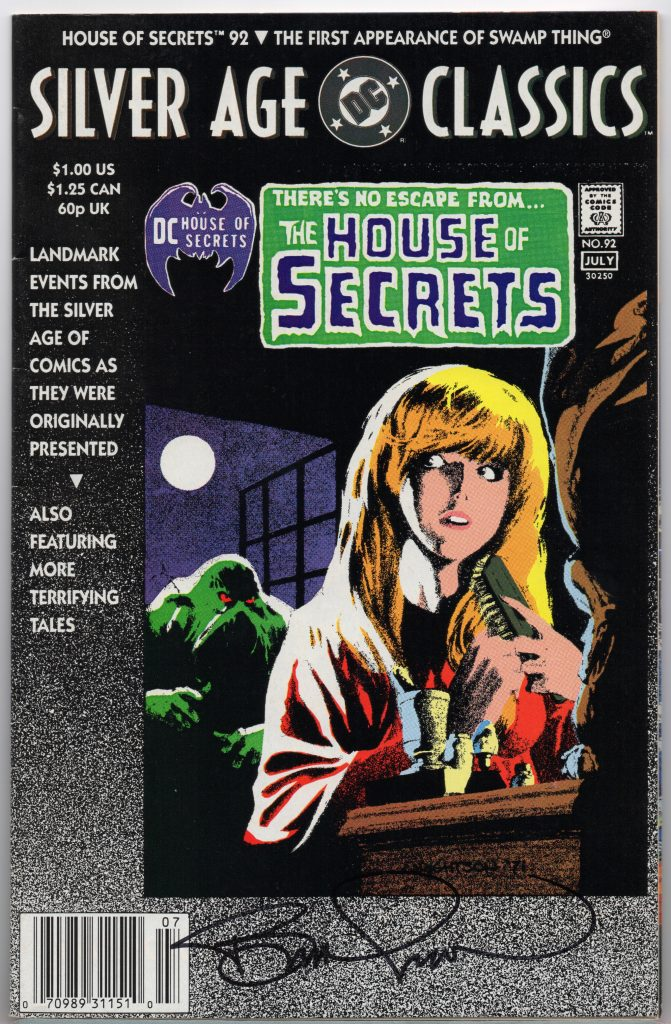 house of secrets autograph