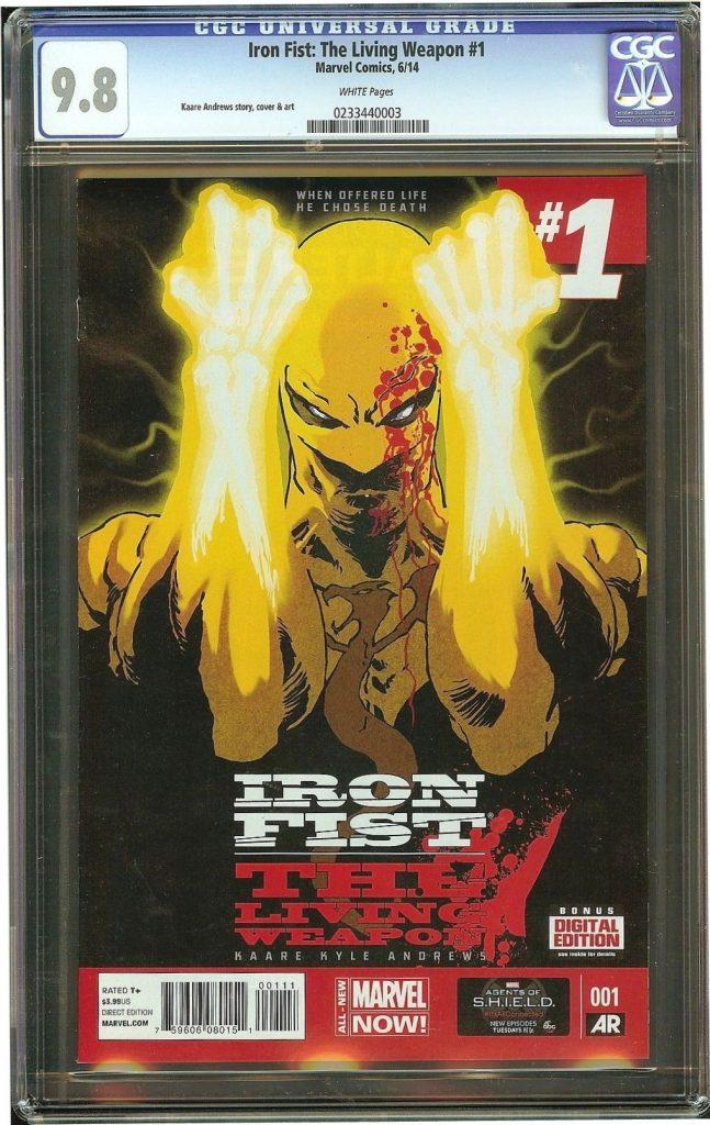 iron fist cgc