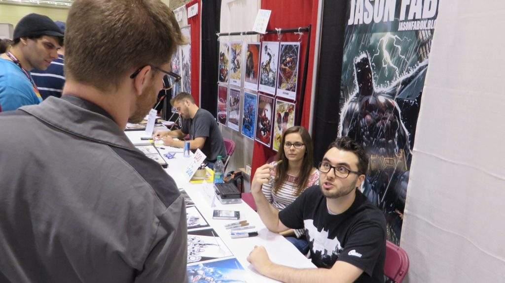 jason fabok fan expo 2014