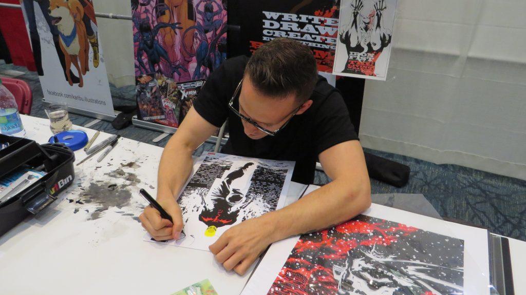 kaare andrews artist comics
